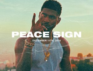 Usher and Zaytoven Release 'Peace Sign' Video