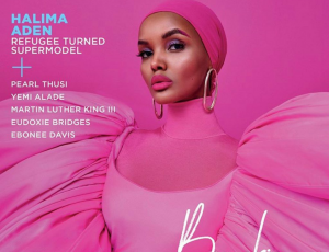 *Halima Aden* 'First Black Woman In Hijab To Grace Cover Of Essence Magazine'.