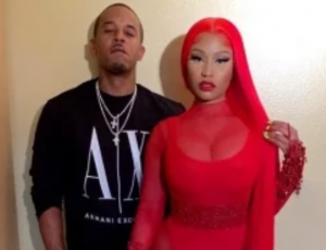 Sip of Gossip…. Nicki Minaj & Husband Kenneth Petty On the Rocks.