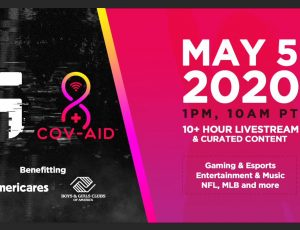 Cov-Aid Relief Event Tuesday May 5th Featuring Your Favorite Celebrities!
