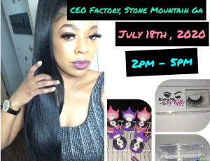 Krown Me Lashes *Kelly Little - #1 Lash Stop in Atlanta Pop-Up Shop Saturday 7/18