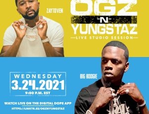 CMG Rapper Big Boogie Comes to OGz n Yungstaz with Zaytoven